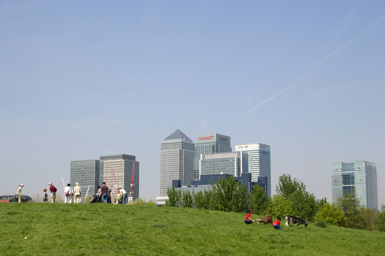 docklands_from_mudchute_park